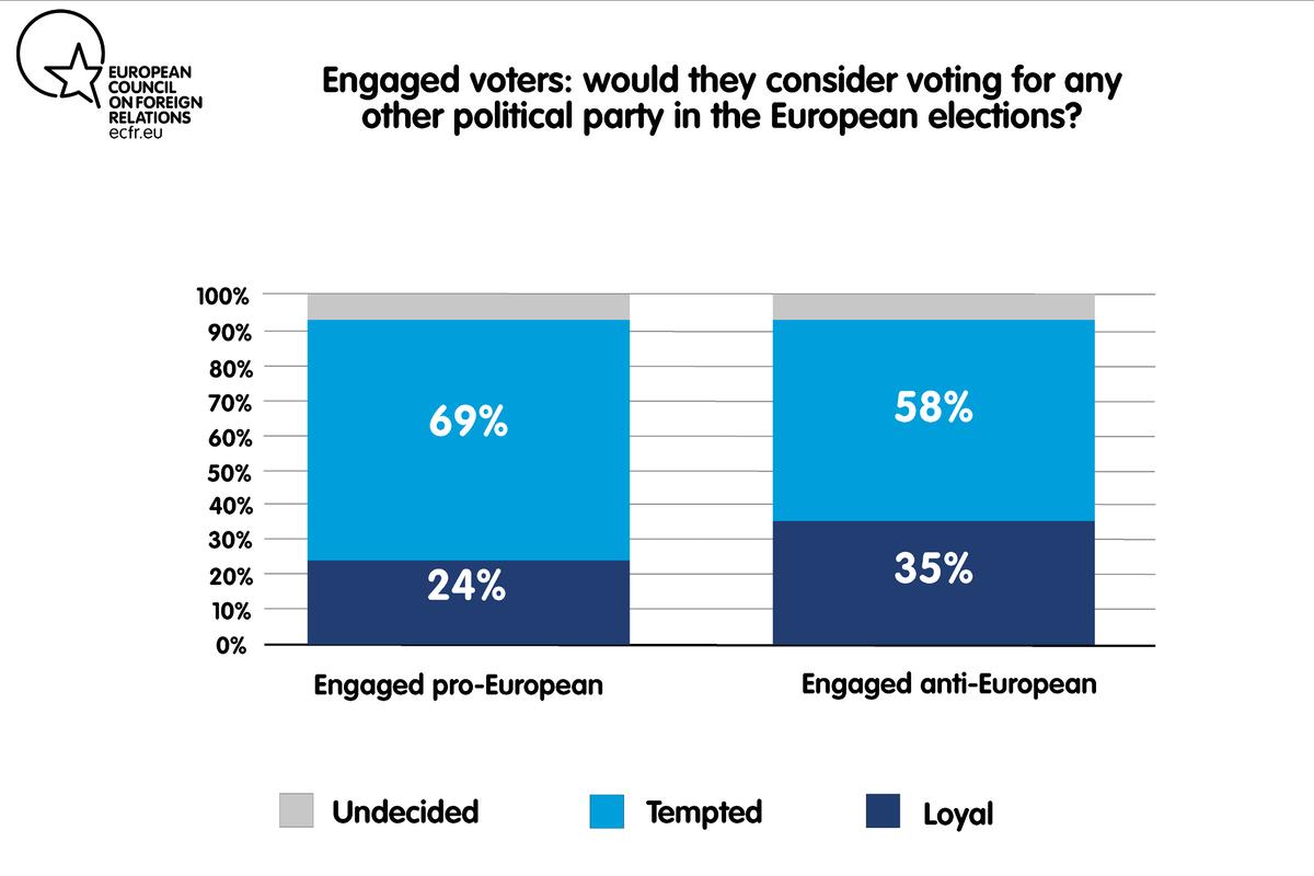 European voter volatility