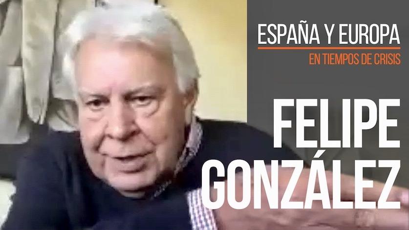 Felipe González sobre la crisis del coronavirus