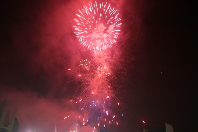 Fireworks Kosovo Independence 9 by Shkumbin Saneja