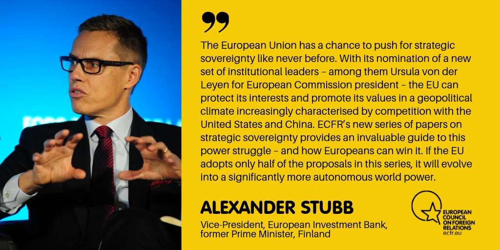 Alexander Stubb quote