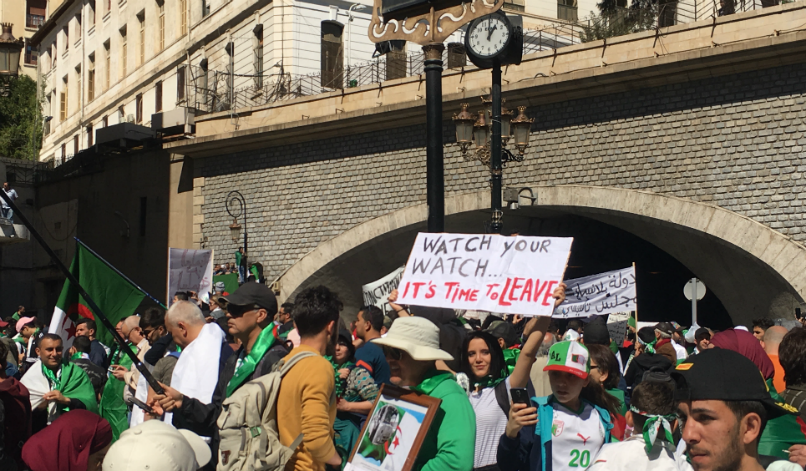 "Beyond Bouteflika: Algeria protests demand whole system ""Clear out"""