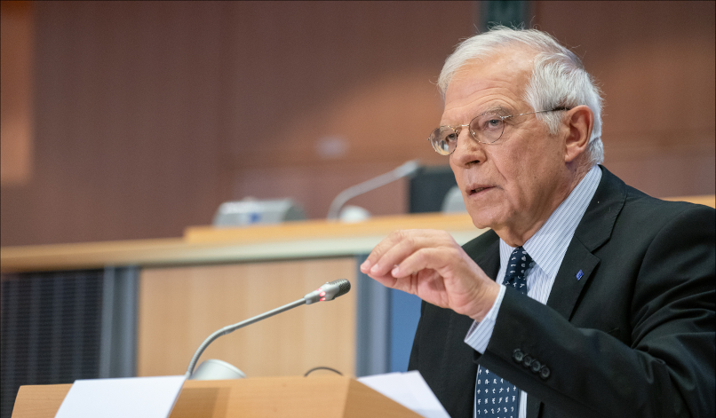 """Strength has to start at home"": Interview with Borrell on the EU's response to the coronavirus"