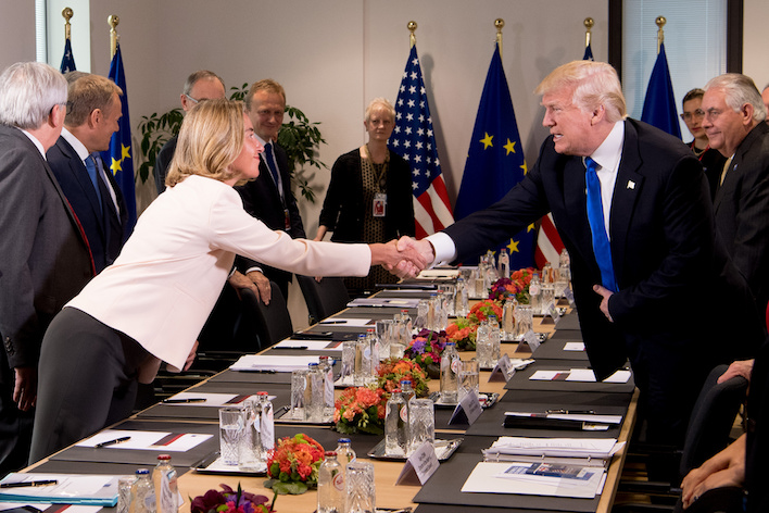 Europe should strike a tough pose with Trump on the Iran nuclear deal