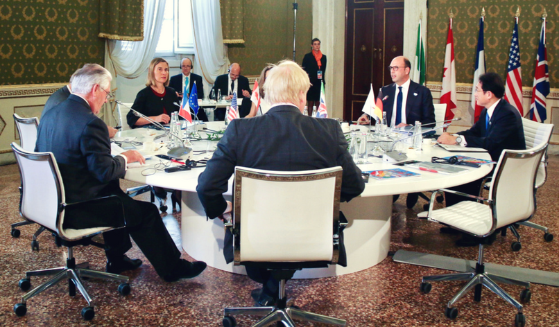 Why the G7 can't agree a response to Syria