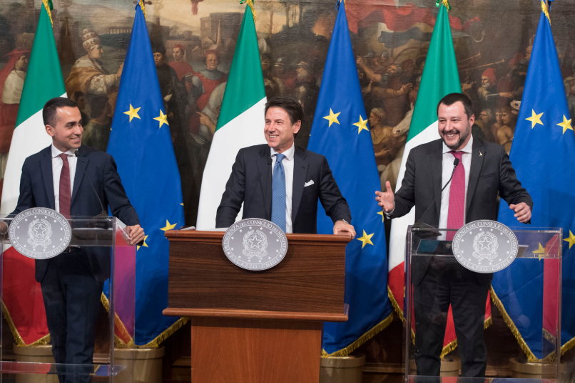 Russiagate and Italy's governing coalition