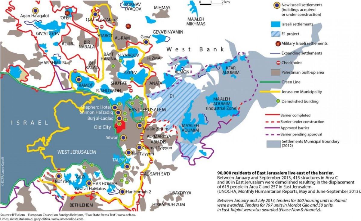 Jerusalem   Mapping Palestinian Politics