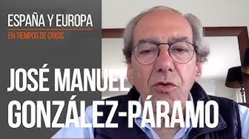 """José Manuel González Páramo: """"Espero que lo urgente no distraiga a nuestros politicos de lo importante."""