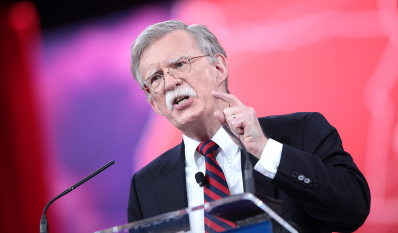 John Bolton: Don't Mention the Norms