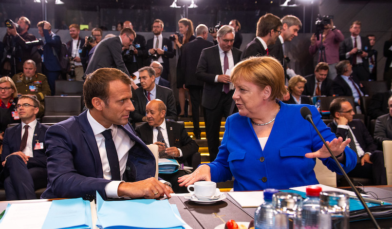 È tempo per un'Europa geopolitica: la risposta tedesca a Macron