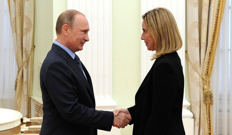 Mogherini goes to Moscow but is missing in action in Ukraine