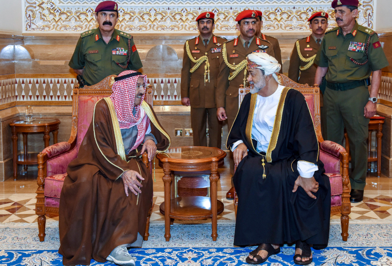 The deaths of the mediators-in-chief: Oman, Kuwait, and de-escalation in the Gulf