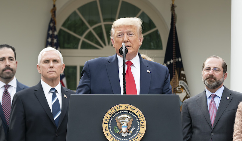 A view from Washington: The America First pandemic