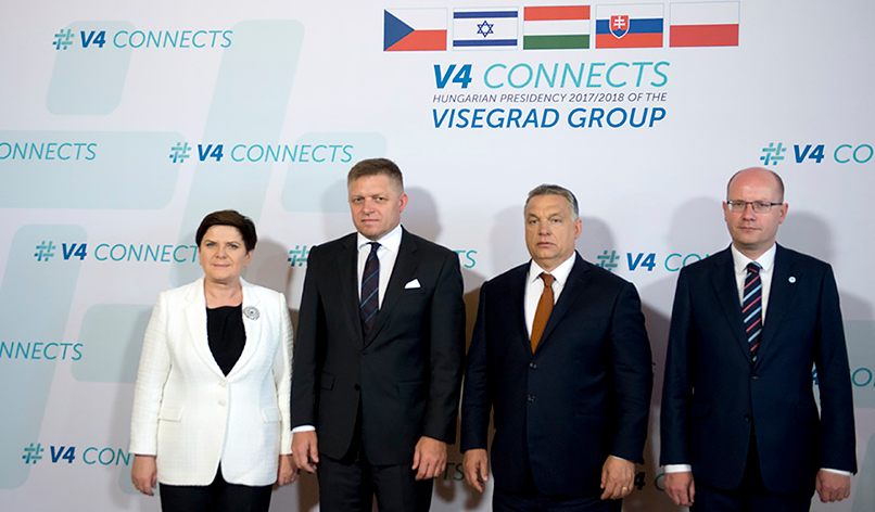 European cohesion and the Visegrád group: The importance of hearts and minds