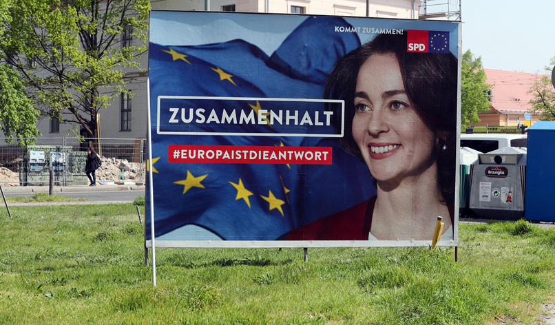 Cohesion or disintegration? Germany's European election campaign