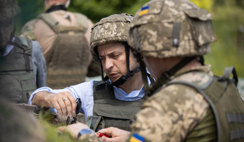 Zelenskiy in Donbas