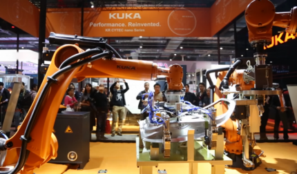 YouTube/ KUKA Robot Group