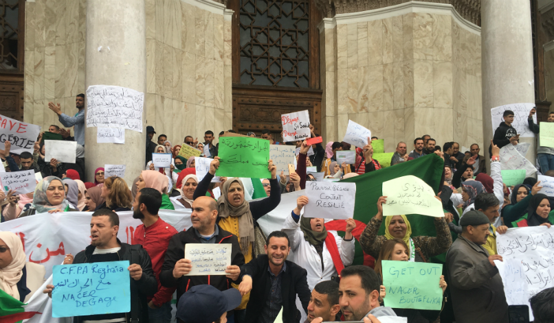 Algeria's protests: A view from the ground