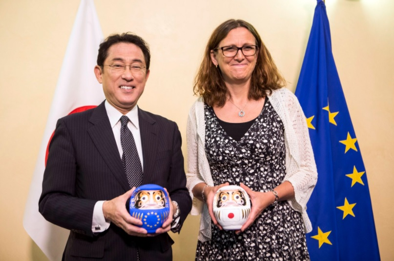 EU-Japan Agreement: Good news on the long road to a deal