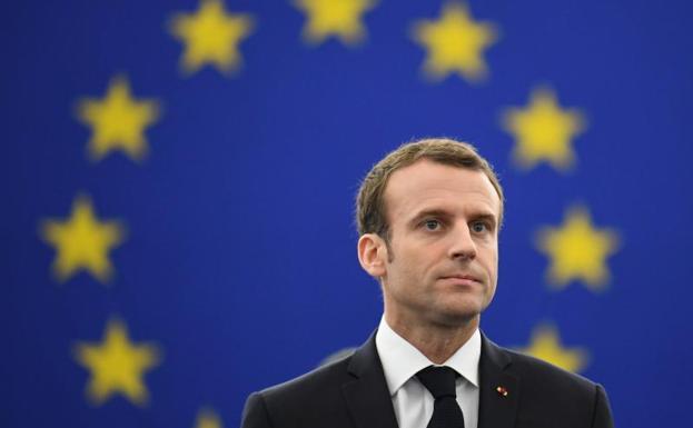 Cover: Marc Bassets sobre la política exterior de Macron en Oriente Medio