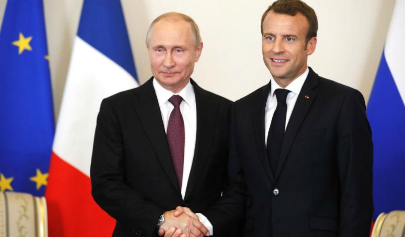 Emmanuel Macron's very big idea on Russia