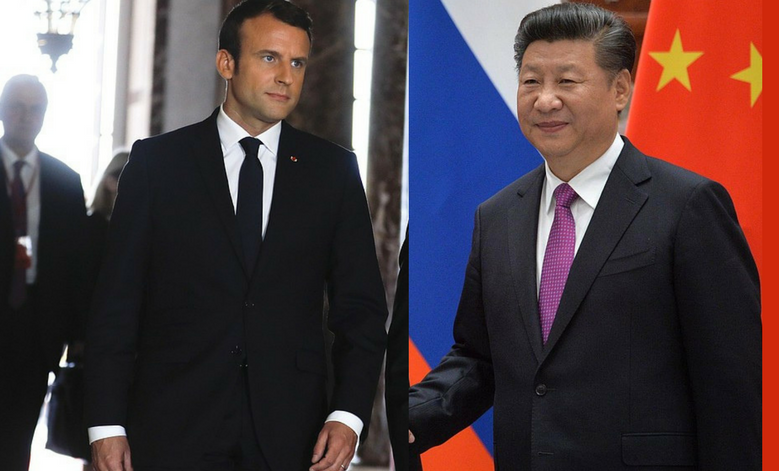Dancing with the bear: Macron in China
