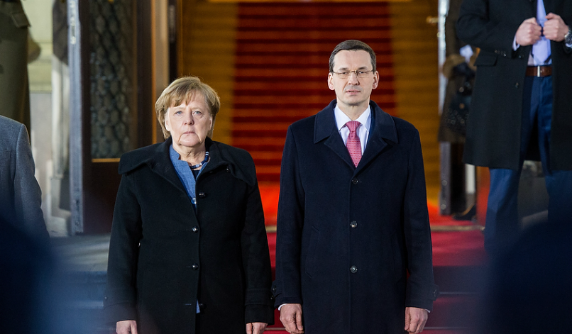 Divided at the centre: Germany, Poland, and the troubles of the Trump era