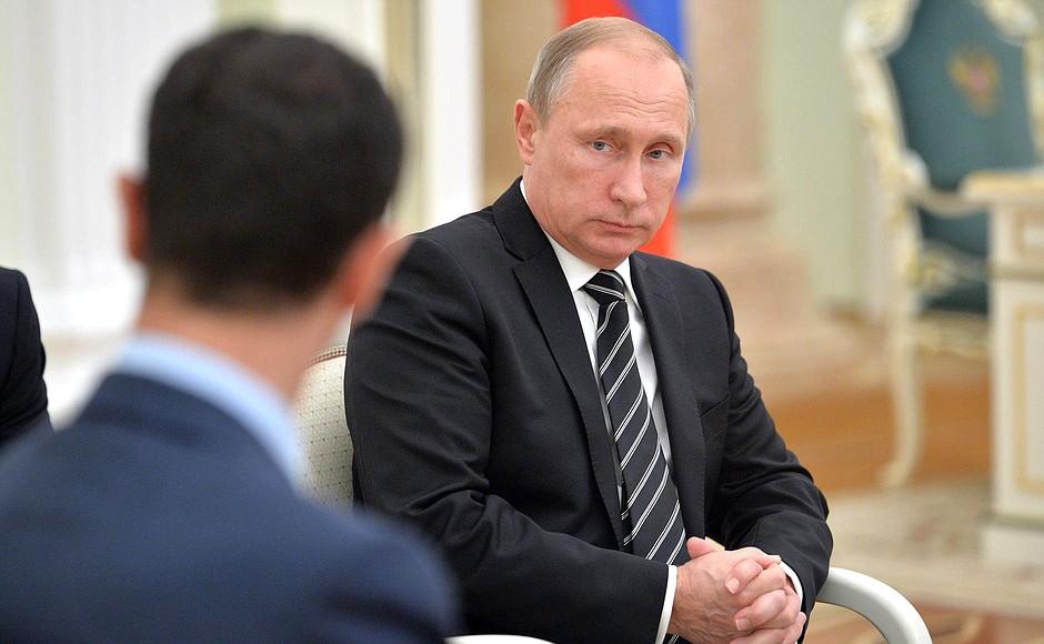 Trump thanks Putin for remarks on strong USA economy