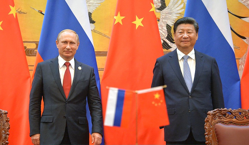 The authoritarian entente: Sino-Russian security cooperation