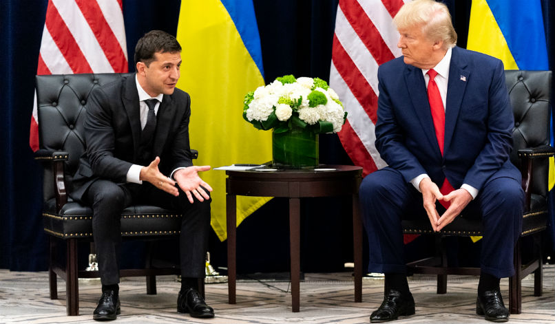 Ukraine's Leader: We Can't Be Ordered to Investigate Biden