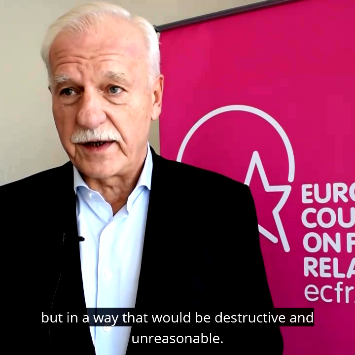 ECFR trustee Andrzej Olechowski on the single biggest threat facing Europe today