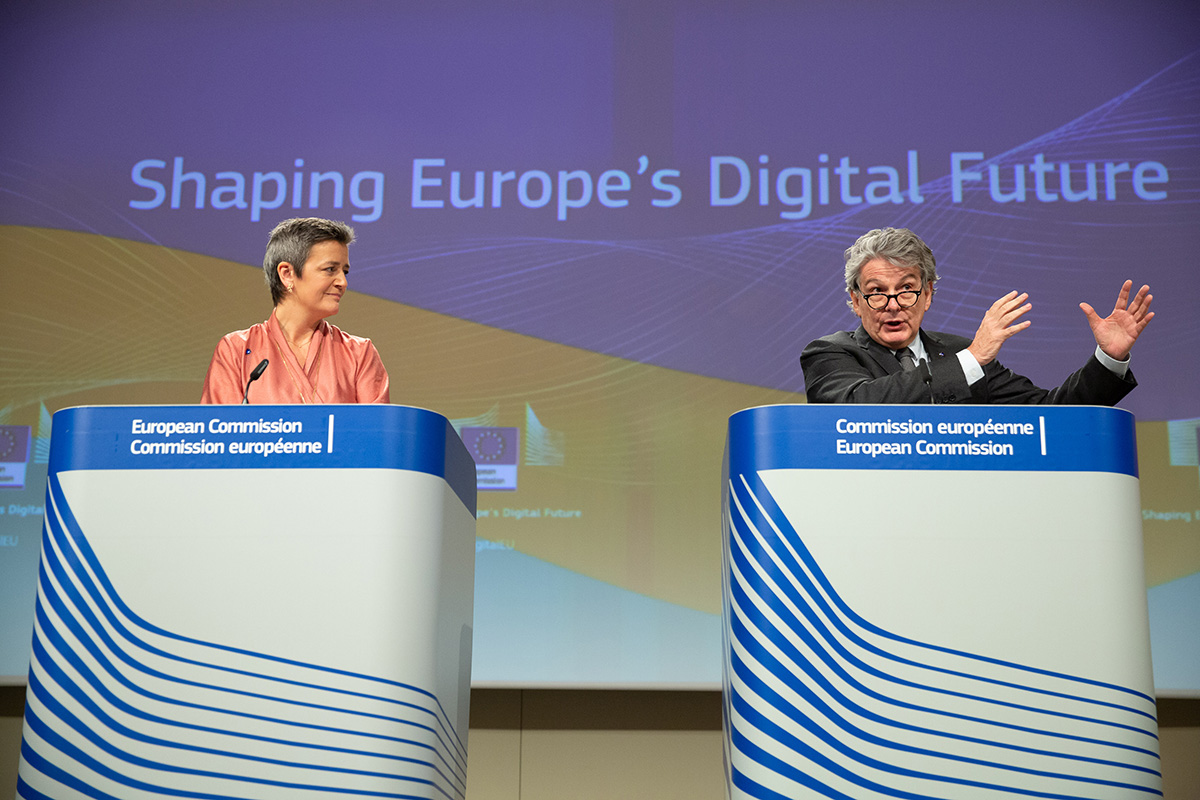 Europe's digital sovereignty: From rulemaker to superpower in the age of US-China rivalry