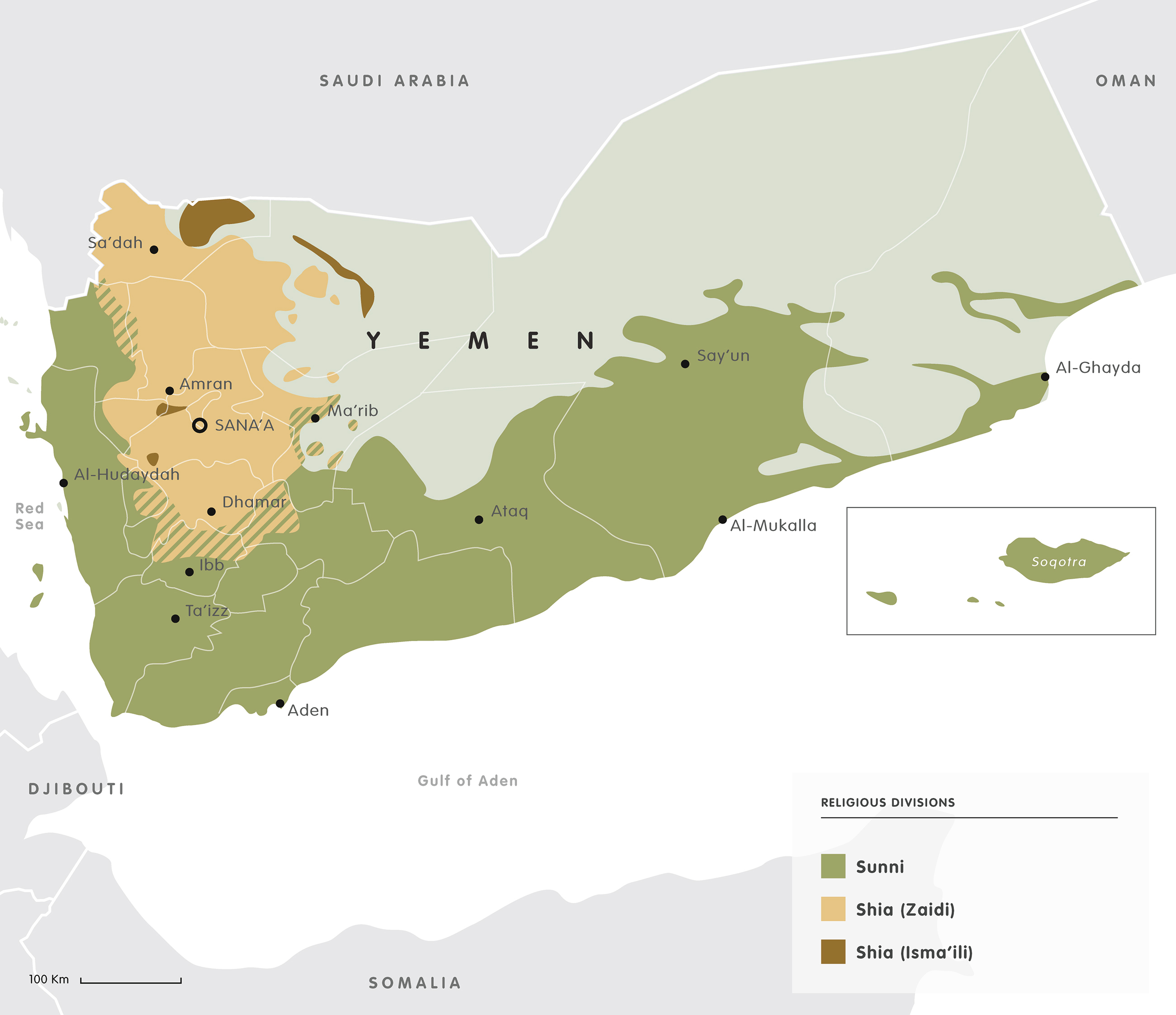 Mapping the Yemen conflict European Council on Foreign Relations
