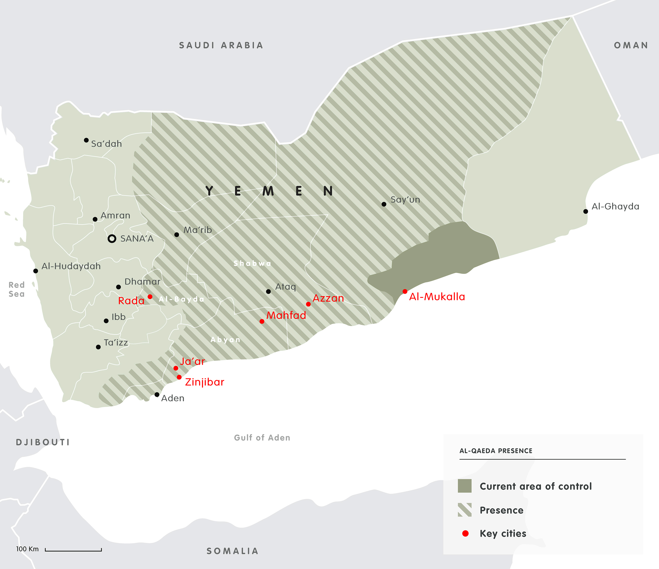 Mapping the Yemen conflict 2015 European Council on Foreign