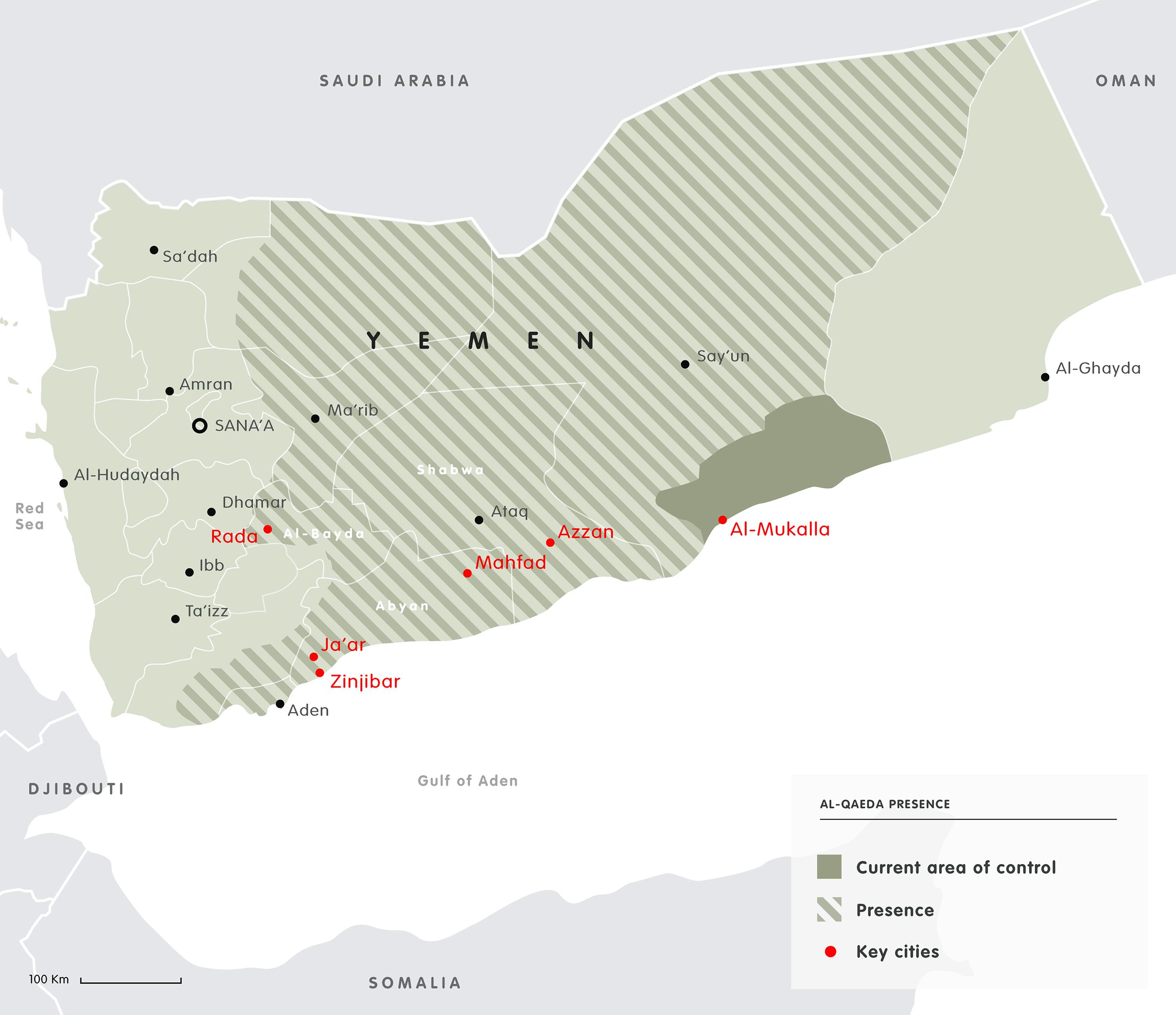 map al-qaeda