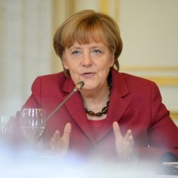 Cover: ECFR's World in 30 Minutes: Merkel - the leader of the free world?