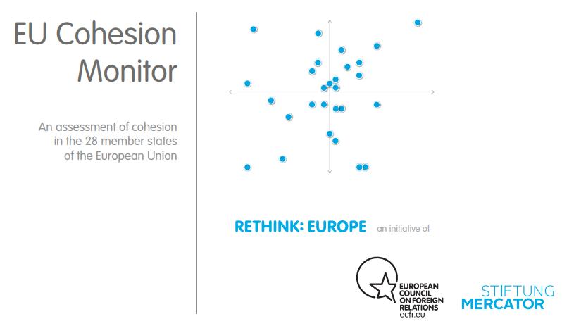 Cover: La cohésion européenne en hausse après des années de crise