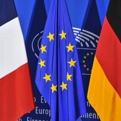 Cover: ECFR's World in 30 Minutes: France and Germany – political tumult in the core of Europe