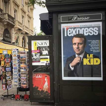 Cover: European Reactions to Macron's Victory
