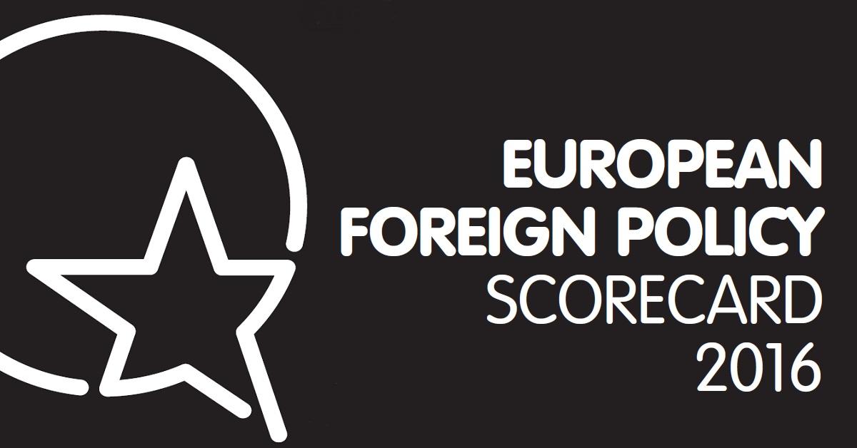 European Foreign Policy Scorecard 2013