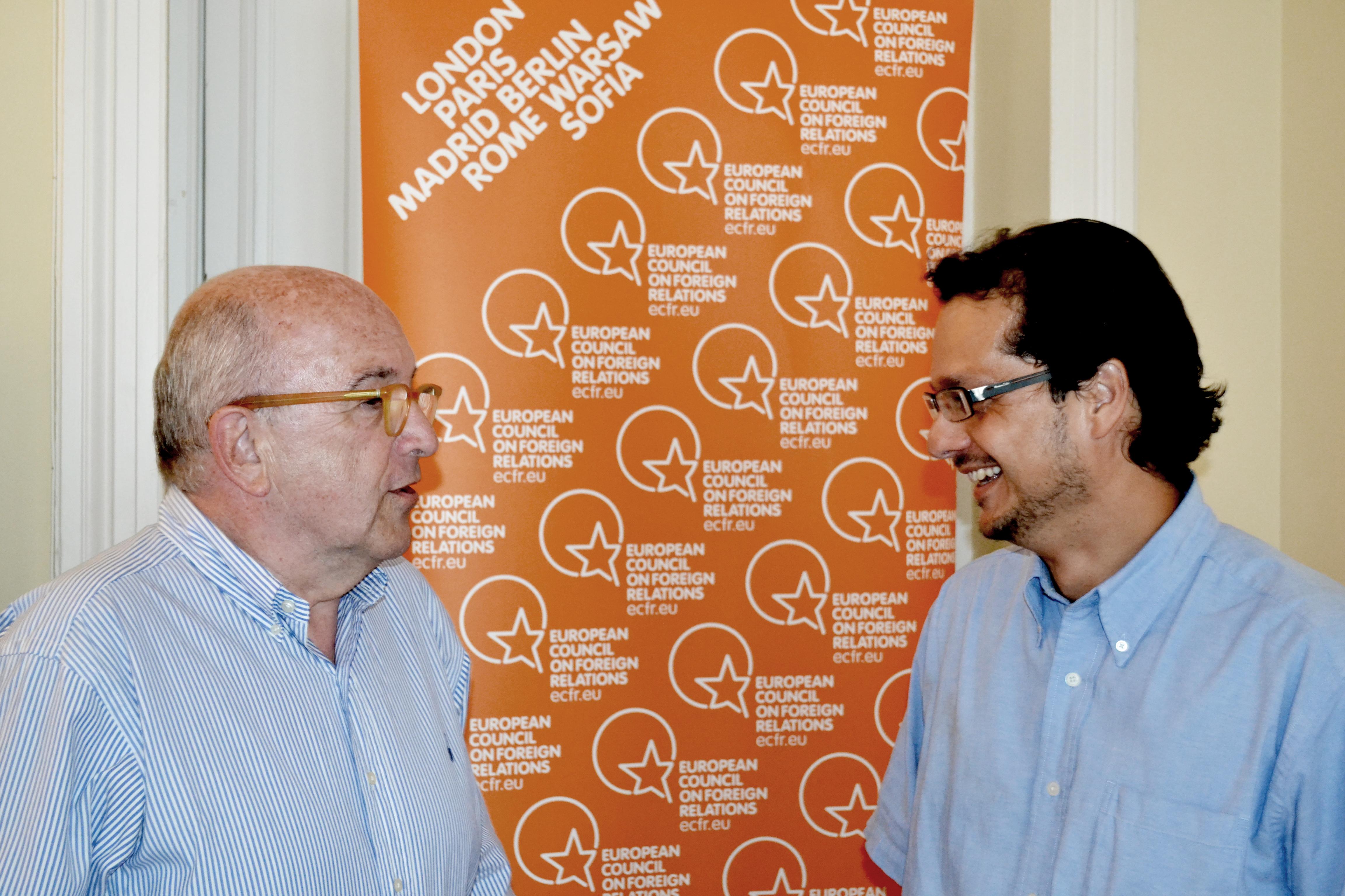 Joaquín Almunia y José Ignacio Torreblanca sobre el tercer rescate a Grecia