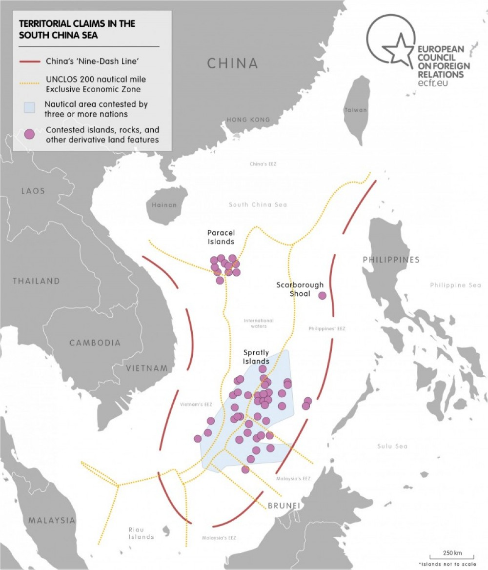 Territorial claims in the south china sea
