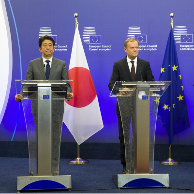 Cover: ECFR Clips: The prospects of Japan-EU relations