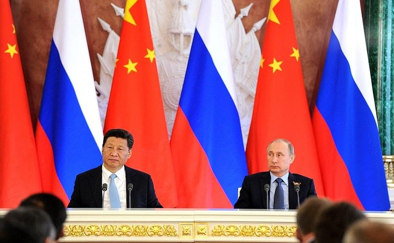 Cover: Le jeu sino-russe contre l'Occident