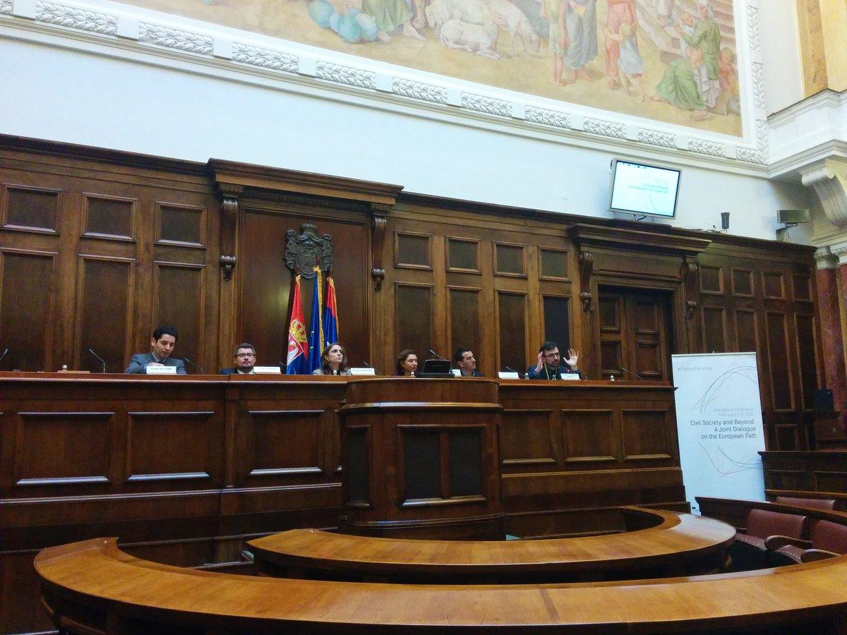 Cover: Futuro de la ampliación de la UE en los Balcanes Occidentales y el papel de la sociedad civil
