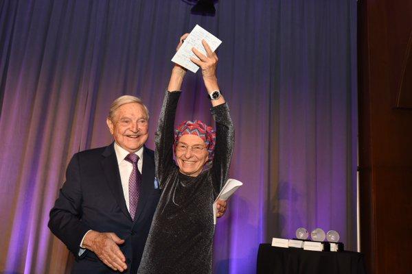 International Crisis Group premia Emma Bonino per il suo impegno nella lotta contro le ingiustizie nel mondo