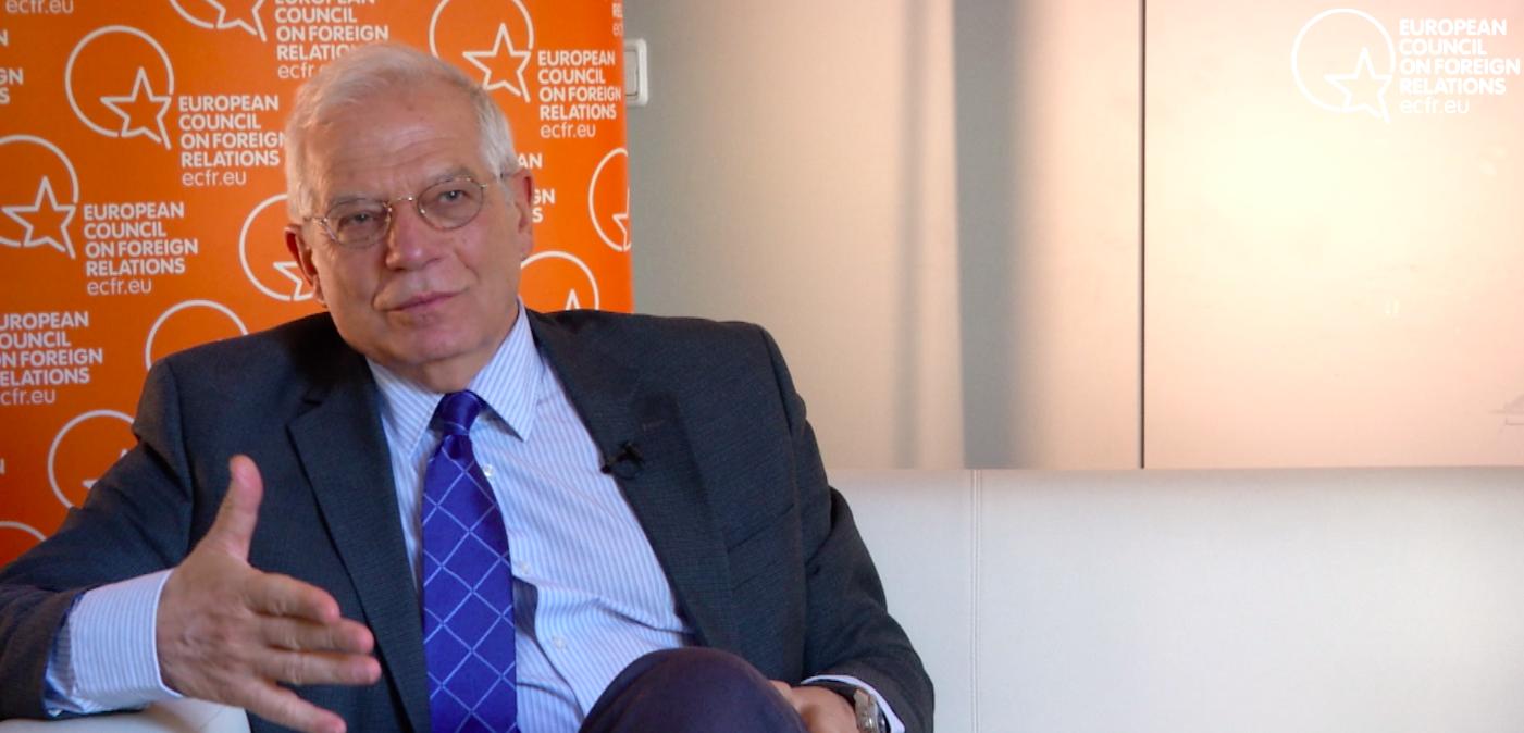 Borrell vuelve: esta es su visión para Europa