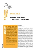 Cover: China: Waging 'Lawfare' on NGOs