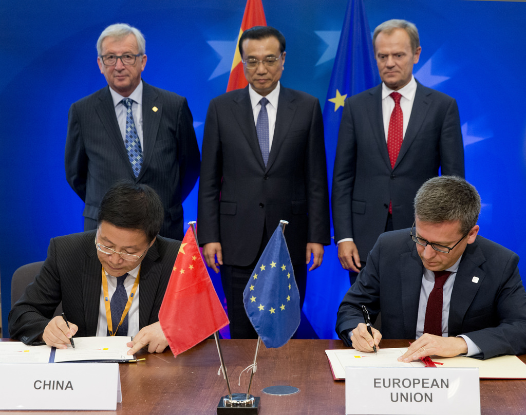 china eu trade relations To discuss the significance of chinese president xi jinping's trip to belgium on china-eu trade relations, anchor mike walter is joined by professor horst lo.