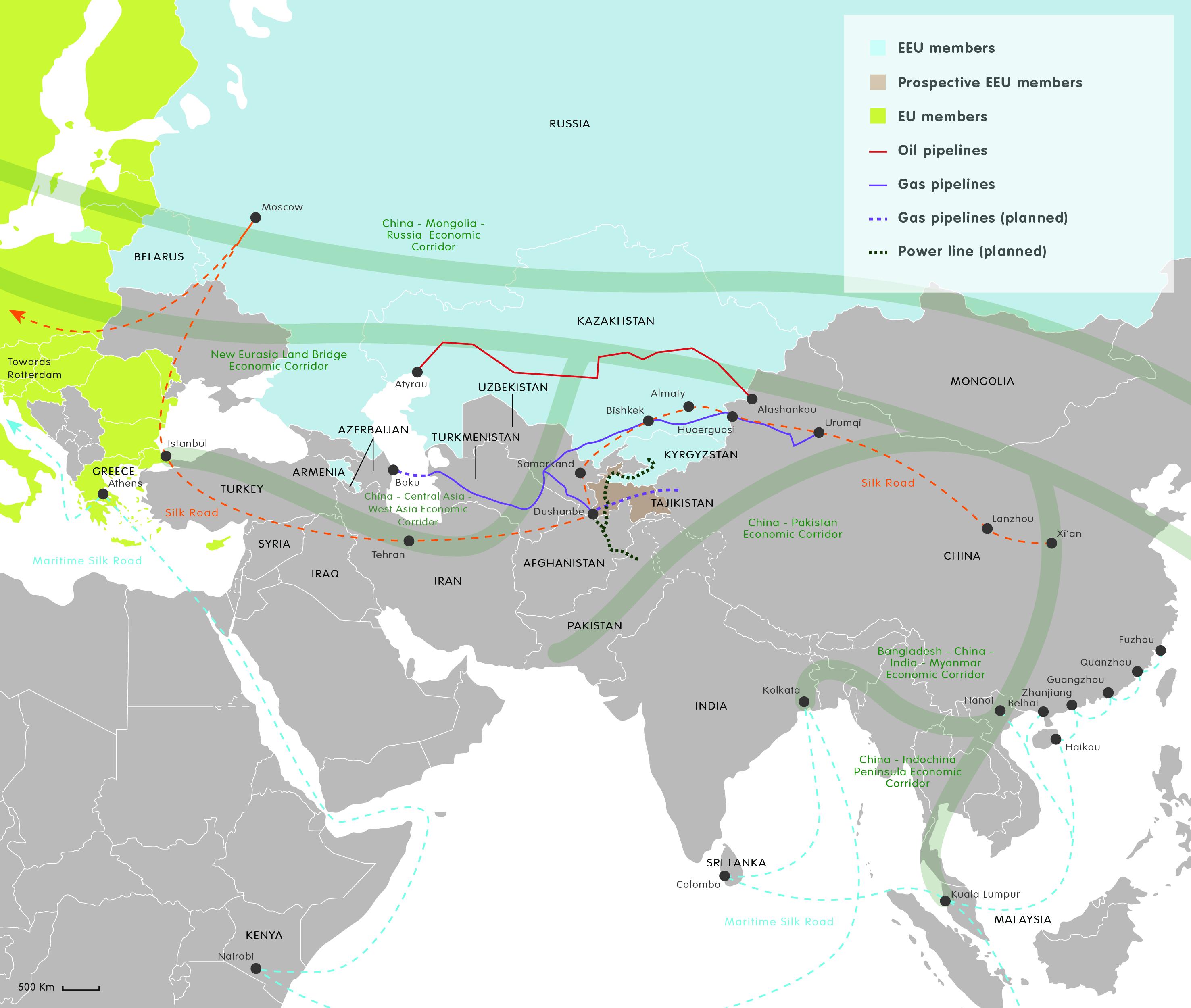 Eurasian integration initiatives / cc ECFR