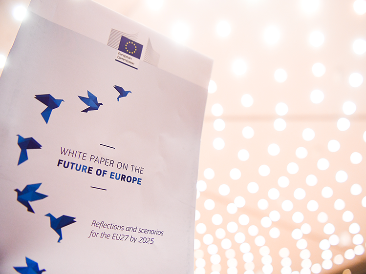 Les Scenarios Pour L Europe Decryptage Du Livre Blanc De